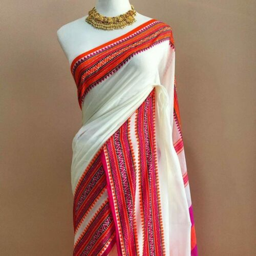 Handwoven  Pure cotton sarees