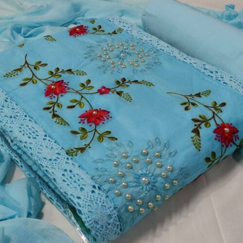 Organdy Cotton Salwar materials